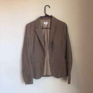 Tan business blazer